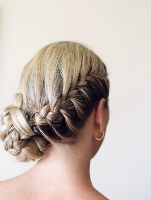 15 Wedding Braid Hairstyles With Braided Wedding Hairstyles (View 4 of 15)
