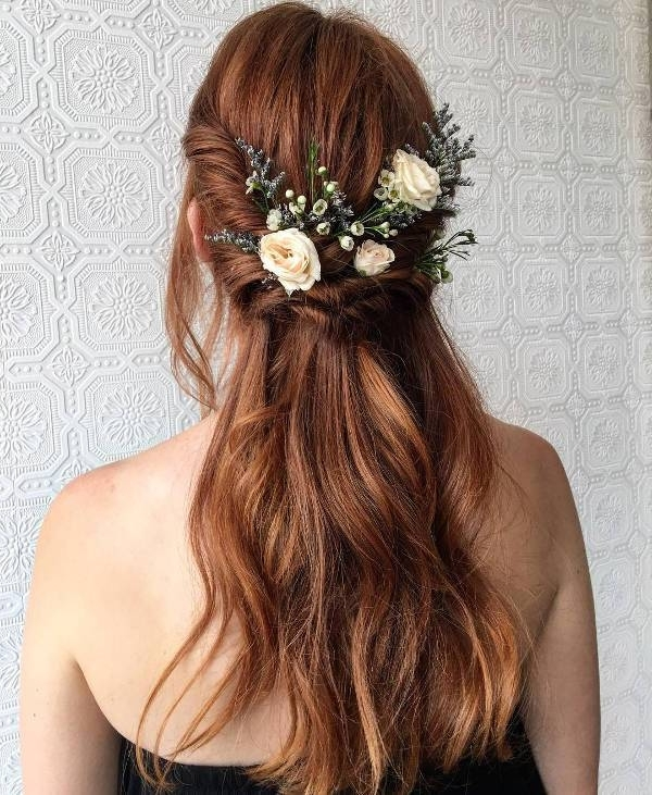 15+ Wedding Hairstyle Designs, Ideas | Design Trends – Premium Psd With Boho Wedding Hairstyles (View 13 of 15)
