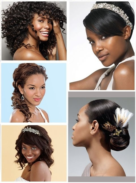 1559 Best African American Wedding Hairstyles Images On Pinterest With Wedding Hairstyles For African American Brides (View 14 of 15)