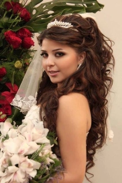 16 Best Wedding Ideas Images On Pinterest | Hair Dos, Beauty Makeup Intended For Wedding Hairstyles For Really Long Hair (View 8 of 15)