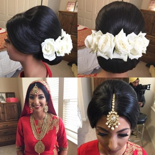17 Best Wedding Hairstyles For Short Hair: Ideas For Indian Brides With Regard To Easy Indian Wedding Hairstyles For Short Hair (View 5 of 15)