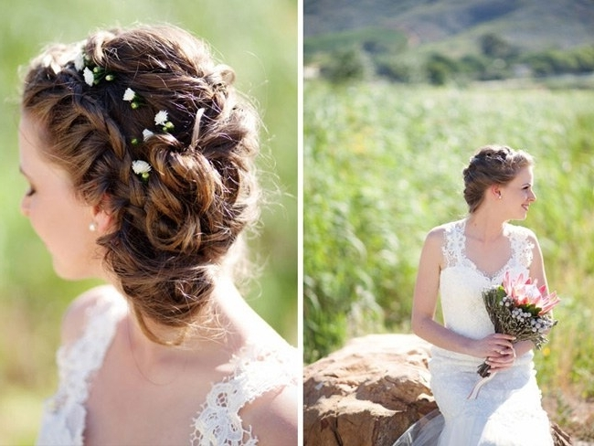 17 Jaw Dropping Wedding Updos & Bridal Hairstyles For Rustic Wedding Hairstyles (View 15 of 15)