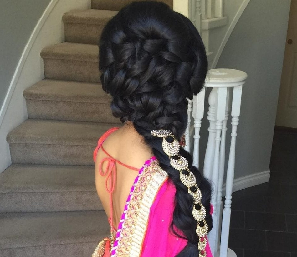17 Of The Best Indian Wedding Hairstyles For Your Big Day In Braided Hairstyles For Long Hair Indian Wedding (View 7 of 15)
