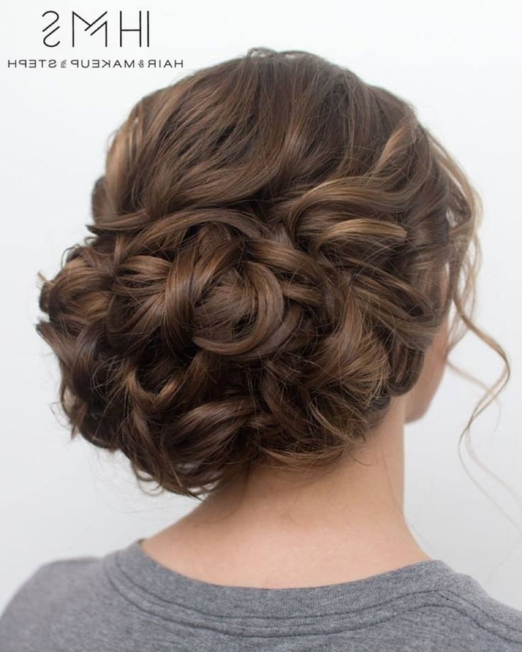 18 Best Prom Hair Images On Pinterest | Hair Makeup, Wedding Hair In Tied Up Wedding Hairstyles (View 10 of 15)