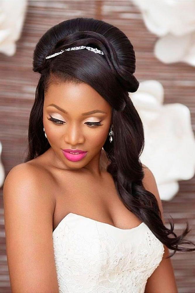 18 Black Women Wedding Hairstyles ? See More: Ww   Zambian In Wedding Hairstyles For Black Woman (View 11 of 15)