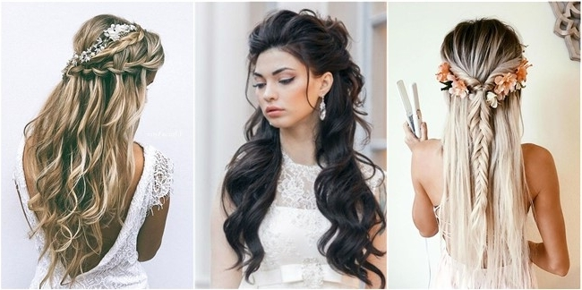 18 Creative And Unique Wedding Hairstyles For Long Hair Regarding Wedding Hairstyles For Long Hair (View 15 of 16)