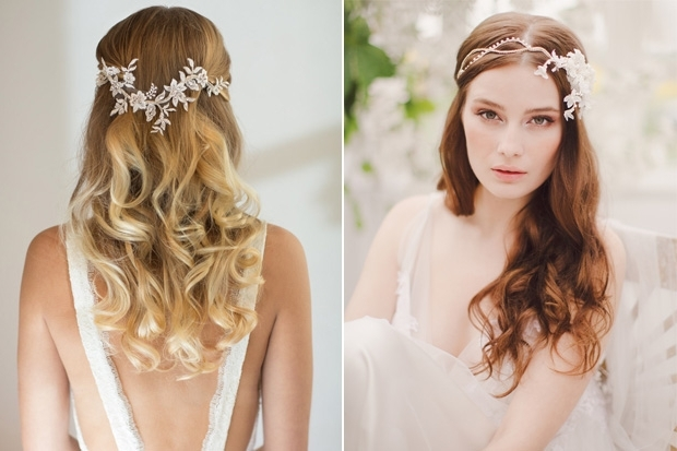 18 Stunning Wedding Hair Accessories For Brides Wearing Their Hair With Regard To Wedding Hairstyles With Accessories (View 6 of 15)