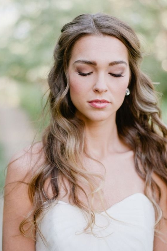 18 Super Romantic & Relaxed Summer Wedding Hairstyles | Weddingsonline Within Relaxed Wedding Hairstyles (View 2 of 15)