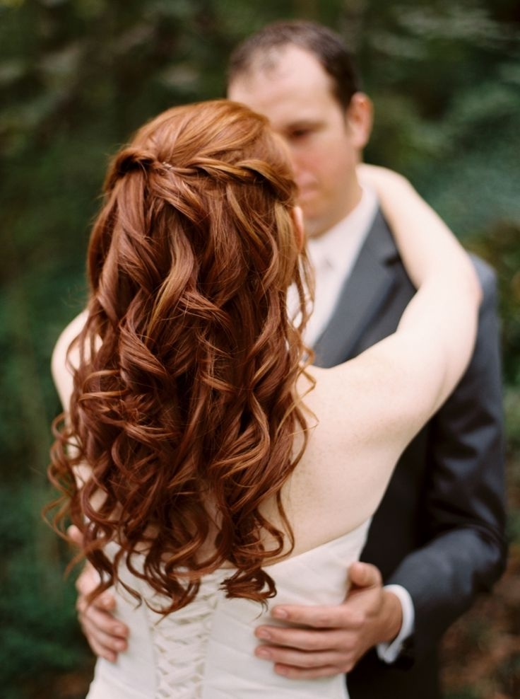 19 Best Redhead Wedding Hair Images On Pinterest | Bridal Hairstyles Regarding Wedding Hairstyles For Red Hair (View 3 of 15)