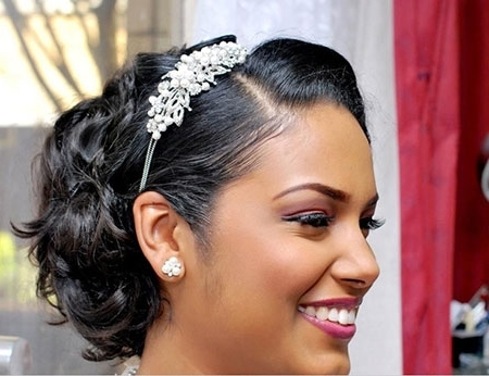 19 Wedding Hairstyle Short Hair | Short Hairstyles 2017 – 2018 Regarding Bridal Hairstyles For Short African Hair (View 3 of 15)