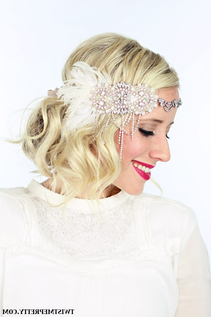 2 Gorgeous Gatsby Hairstyles For Halloween Or A Wedding – Twist Throughout 1920S Era Wedding Hairstyles (View 9 of 15)