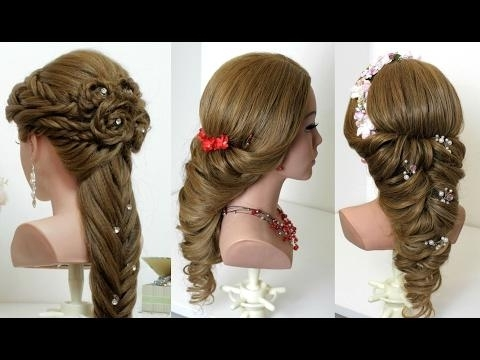 2 Wedding Prom Hairstyles Tutorials For Long Hair Regarding Wedding Prom Hairstyles For Long Hair Tutorial (View 1 of 15)