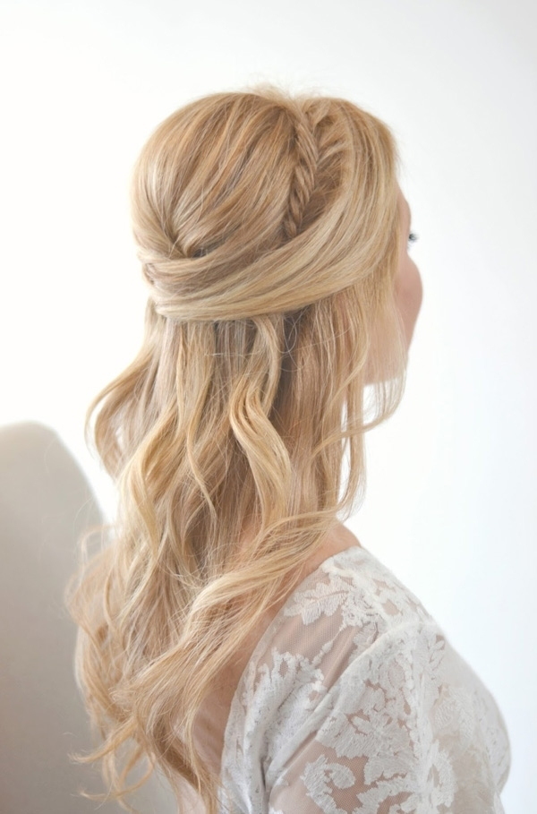 20 Awesome Half Up Half Down Wedding Hairstyle Ideas With Regard To Up And Down Wedding Hairstyles (View 6 of 15)