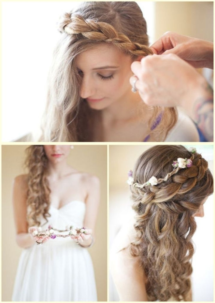 20 Best Curly Wedding Hairstyles Ideas – The Xerxes Intended For Wedding Hairstyles For Shoulder Length Curly Hair (View 7 of 15)
