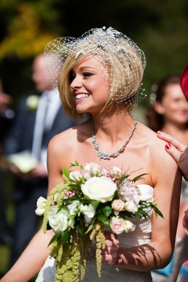 20 Bob Wedding Hairstyles Ideas | Chin Length Bob, Bobs And Weddings Regarding Wedding Hairstyles For Chin Length Hair (View 9 of 15)