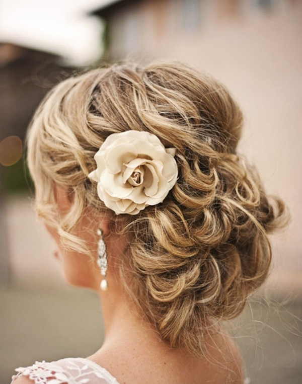 20 Creative And Beautiful Wedding Hairstyles For Long Hair In Hair Up Wedding Hairstyles (View 11 of 15)