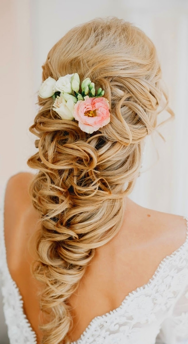 20 Creative And Beautiful Wedding Hairstyles For Long Hair Within Spring Wedding Hairstyles For Bridesmaids (View 4 of 15)