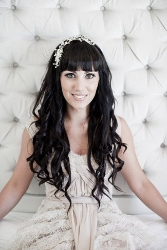 20 Long Wedding Hairstyles In Wedding Hairstyles For Long Hair With Bangs (View 1 of 15)