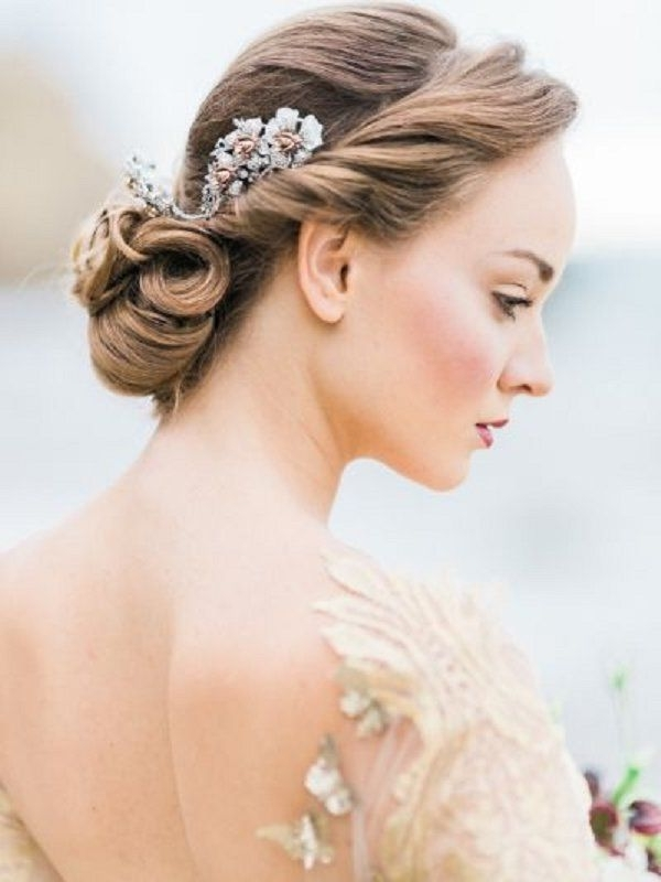 20 Long Wedding Hairstyles With Beautiful Details That Wow! | Updo Throughout Grecian Wedding Hairstyles For Long Hair (View 3 of 15)