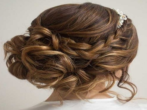 20 Messy Buns Hairstyles | Long Hairstyles 2017 | Messy Bun With Messy Bun Wedding Hairstyles (View 12 of 15)