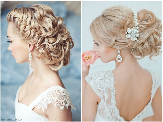 20 Most Beautiful Updo Wedding Hairstyles To Inspire You | Deer Intended For Upstyles Wedding Haircuts (View 3 of 15)