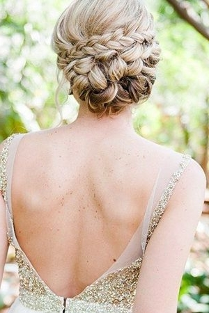 20 Most Romantic Bridal Updos Wedding Hairstyles To Inspire Your Big In Wedding Updos For Long Thick Hair (View 1 of 15)