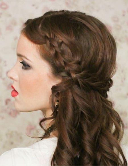 20 Sweet Wedding Hairstyles For Medium Hair Intended For Wedding Hairstyles For Medium Hair (View 8 of 15)