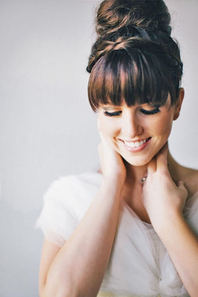 20 Trendy Alternative Haircuts Ideas For Women | Chic Wedding Within Wedding Hairstyles With Fringe (View 8 of 15)