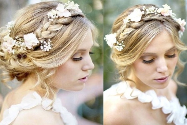 2014 Boho Wedding Hair Styles Ideas – Vpfashion | Bohemian Wedding Pertaining To Bohemian Wedding Hairstyles For Short Hair (View 8 of 15)