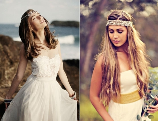 2014 Boho Wedding Hair Styles Ideas – Vpfashion Within Wedding Hairstyles For Long Boho Hair (View 12 of 15)