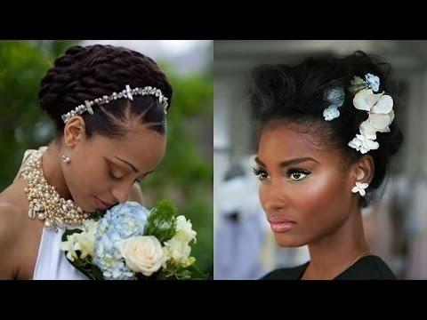 2018 Black Wedding Hairstyles – African American Women Wedding Hair For African Wedding Hairstyles (View 14 of 15)