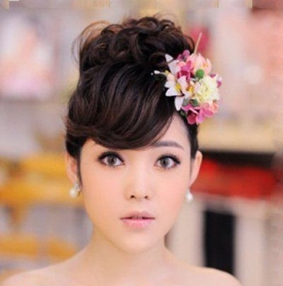 21 Best Japanese Wedding Dress Images On Pinterest | Wedding Hairdos Throughout Japanese Wedding Hairstyles (View 3 of 15)