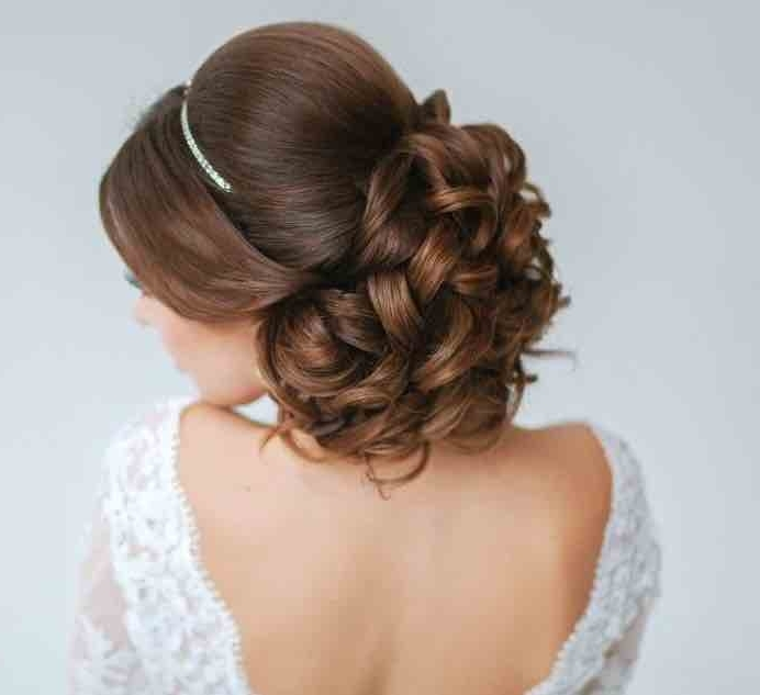 21 Classy And Elegant Wedding Hairstyles – Modwedding For Elegant Wedding Hairstyles (View 2 of 15)