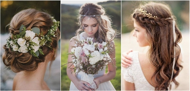 21 Inspiring Boho Bridal Hairstyles Ideas To Steal With Boho Wedding Hairstyles (View 5 of 15)