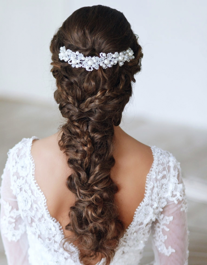 22 Glamorous Wedding Hairstyles For Women – Pretty Designs For Wedding Hairstyles That You Can Do At Home (View 12 of 15)