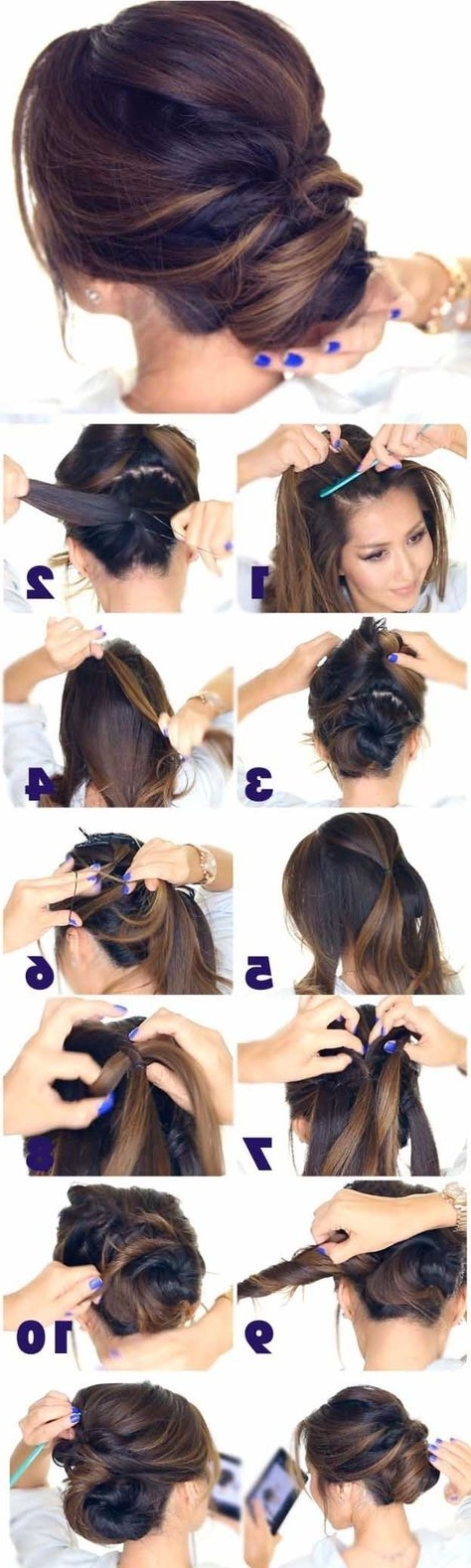 226 Best Hair Images On Pinterest Inside Tied Up Wedding Hairstyles For Long Hair (View 2 of 15)