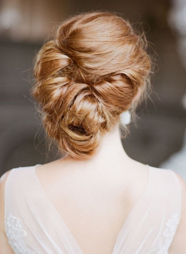 23 Absolutely Timeless Wedding Hairstyles In Roll Hairstyles For Wedding (View 1 of 15)
