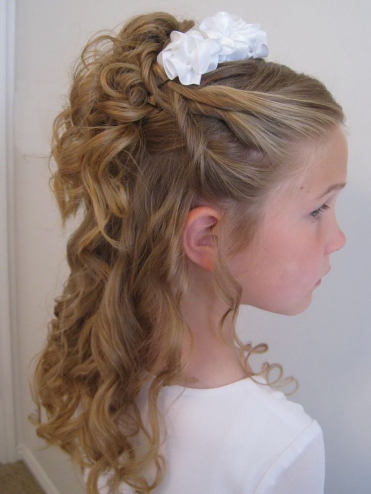 23 Wedding Hairstyles For Kids | Tropicaltanning With Wedding Hairstyles For Kids (View 2 of 15)