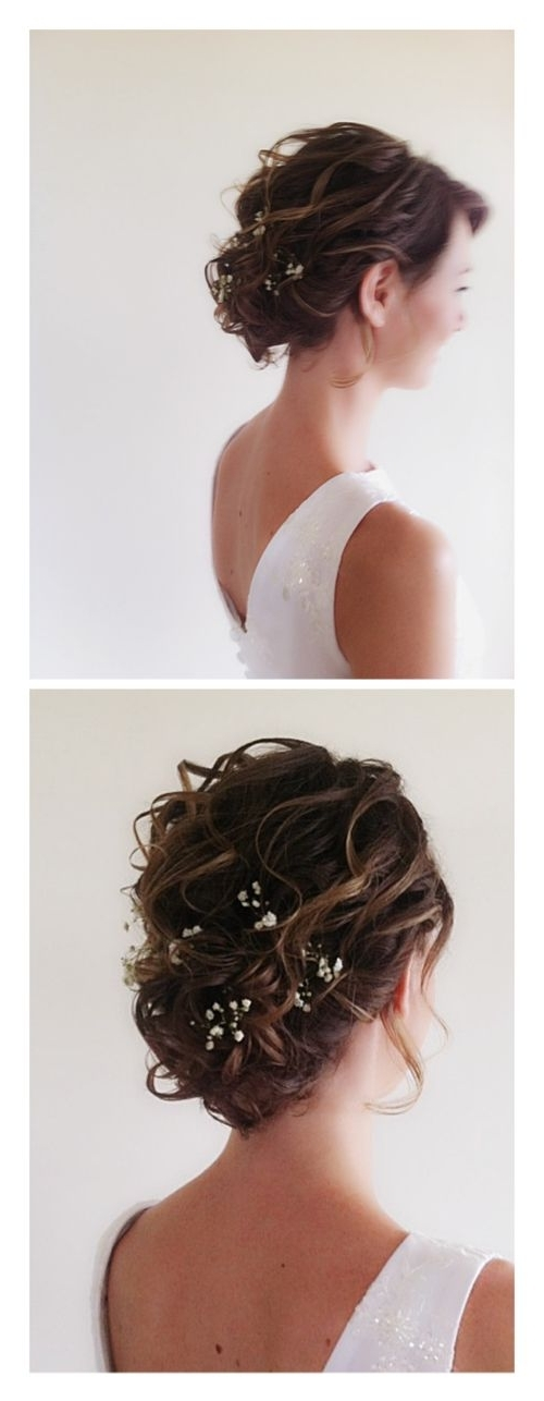 2338 Best Cute Hairstyles? Images On Pinterest | Hairstyle Ideas Regarding Wedding Hairstyles For Short Brown Hair (View 6 of 15)