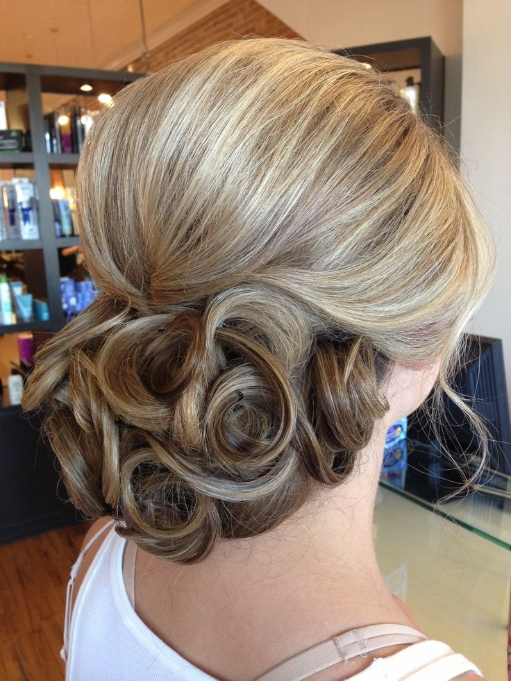 24 Best Capelli Images On Pinterest | Party Hairstyle, Braided Updo Throughout Pin Curls Wedding Hairstyles (View 13 of 15)
