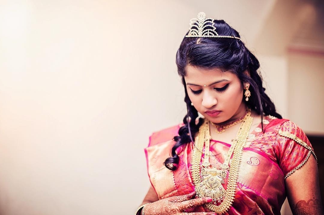 24 Best Christian Bridal Hairstyles To Get Inspired – Updated For 2017 With Wedding Hairstyles For Kerala Christian Brides (View 8 of 15)