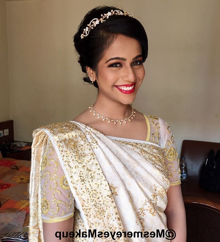 24 Best Christian Bridal Hairstyles To Get Inspired – Updated For 2017 With Wedding Hairstyles For Sarees (View 3 of 15)