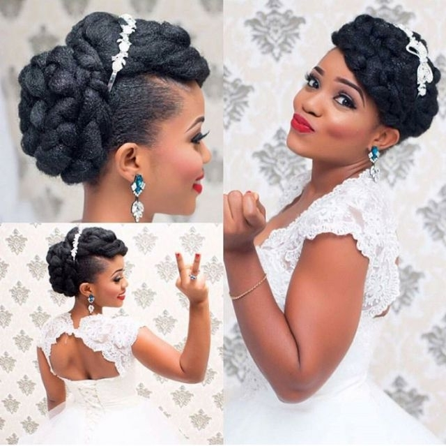 24 Best Wedding Hair Images On Pinterest | Bridal Hair, Natural Hair Regarding Wedding Hairstyles For Kinky Hair (View 12 of 15)