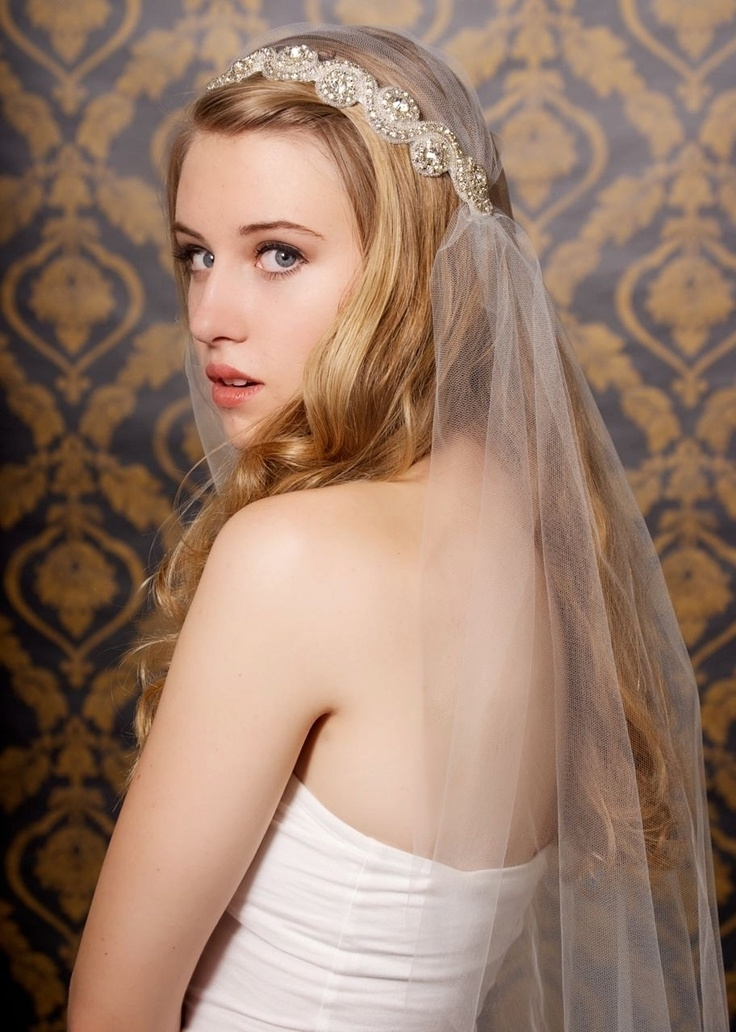 24 Best Wedding Hairstyles Shoulder Length Hair And Jewelry Images For Wedding Hairstyles For Shoulder Length Hair With Veil (View 2 of 15)
