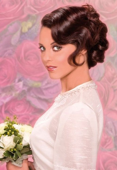 24 Extraordinary Wedding Hairstyles Pin Up – Sharabooks | Hair With Regard To Pin Up Wedding Hairstyles (View 3 of 15)