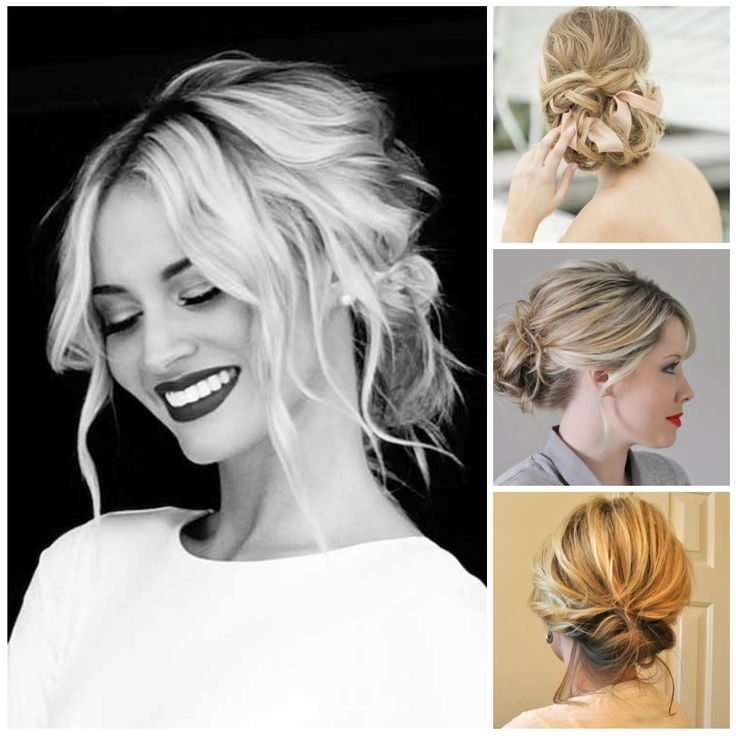 25 Best Wedding Hair Images On Pinterest | Bridal Hairstyles Intended For Casual Wedding Hairstyles For Long Hair (View 4 of 15)