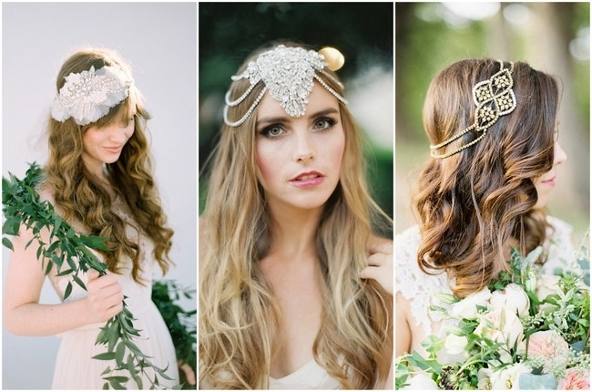 25 Most Romantic Vintage Inspired Bridal Headpieces For 2015 Inside Romantic Vintage Wedding Hairstyles (View 3 of 15)