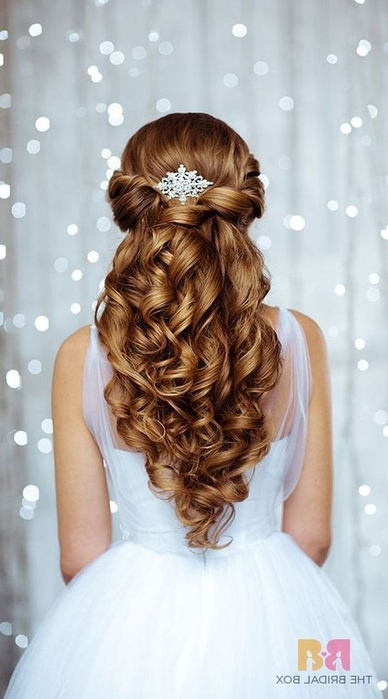 250 Bridal Wedding Hairstyles For Long Hair That Will Inspire | Thin With Wedding Hairstyles For Long Thin Hair (View 9 of 15)