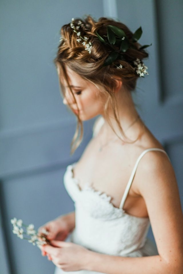 253 Best Gorgeous Wedding Hair Images On Pinterest | Wedding Hair In Spring Wedding Hairstyles For Bridesmaids (View 2 of 15)