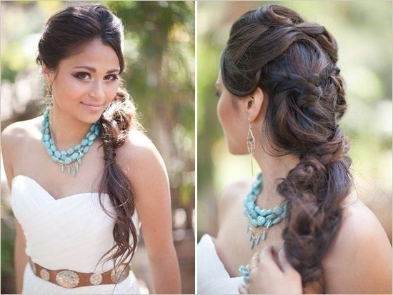 26 Best Bridal Hair Images On Pinterest | Bridal Hairstyles, Wedding For Asian Wedding Hairstyles For Long Hair (View 2 of 15)